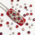 Mixed Pack of 50pc Swarovski Montees, Reds